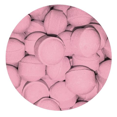 30 x Rose Mini Bath Marbles Fizzers Bath Bubble & Beyond 10g